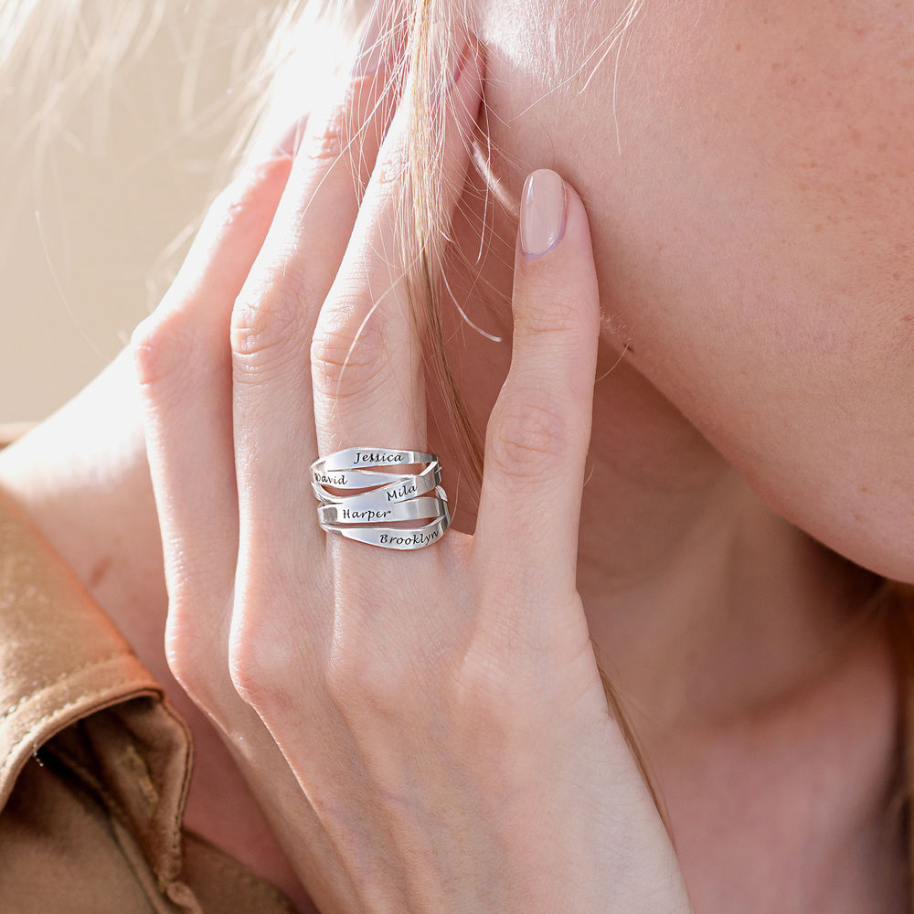 Margeaux Custom Ring in Sterling Silver - 4