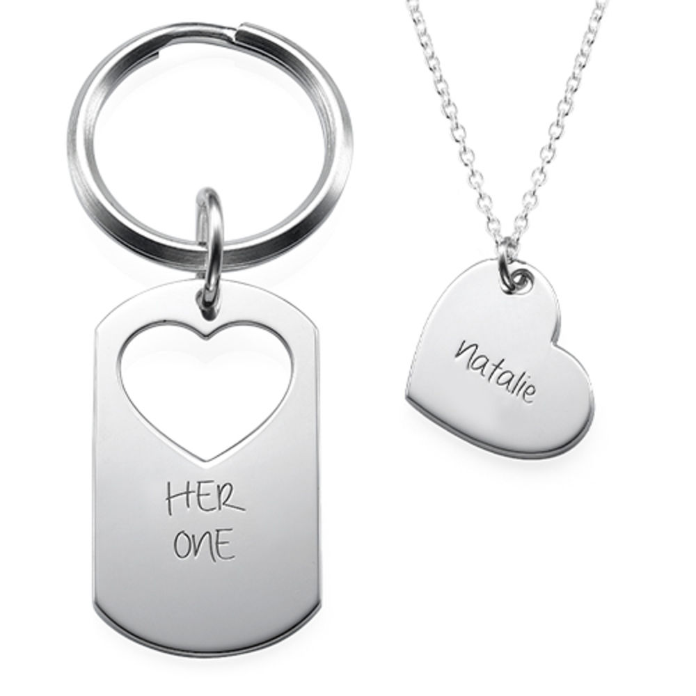 His Only + Her One Couples Jewellery Set