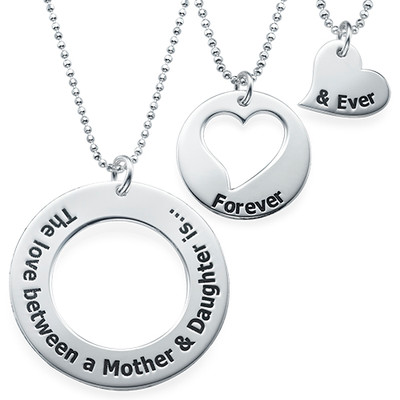 Mother Daughter Jewellery - Three Generations Necklace