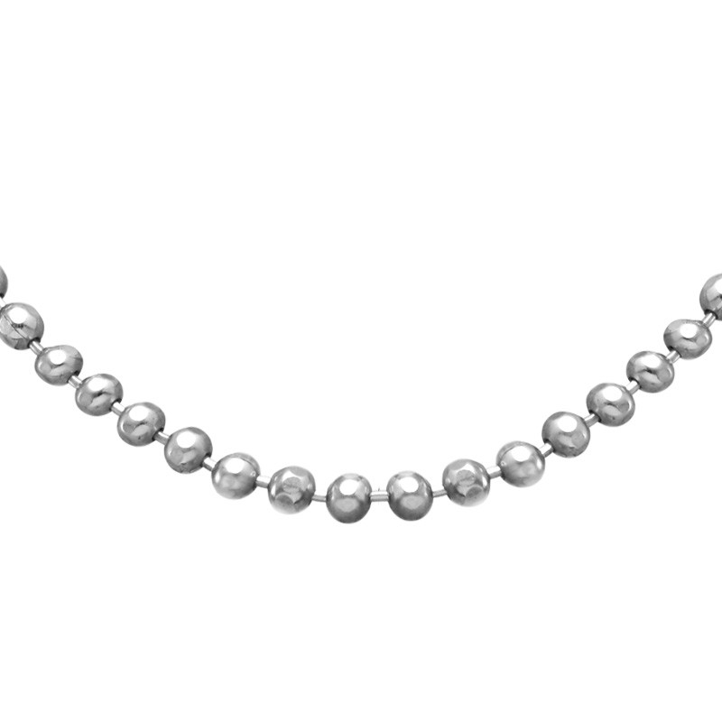 Bead Chain - Silver - 1