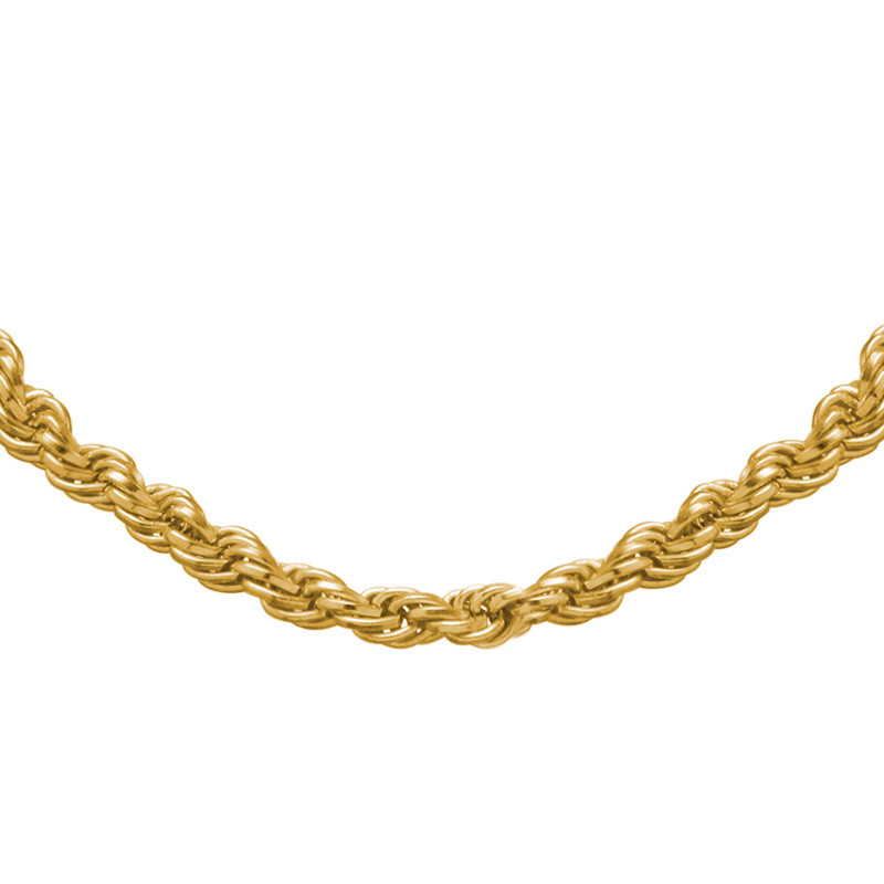 Rope Chain - Gold Plated - 1