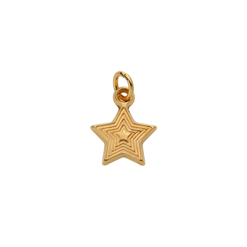 Star Charm in Gold Plating for Linda Necklace