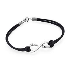 Infinity Name Bracelet product photo