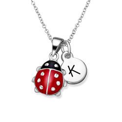 Ladybug Necklace for Kids product photo