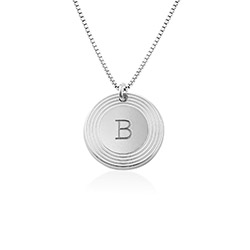 Fontana Initial Necklace in Sterling Silver product photo