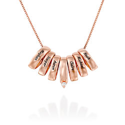 Whole Lot of Necklace in Rose Gold Plating product photo
