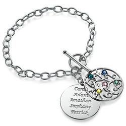 Silver Tree of Life Bracelet - Filigree Style product photo