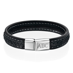 Men's Bracelet with Initials product photo
