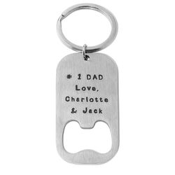 Custom Bottle Opener Keyring product photo