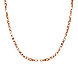 Cable Chain - Rose Gold Plated product photo