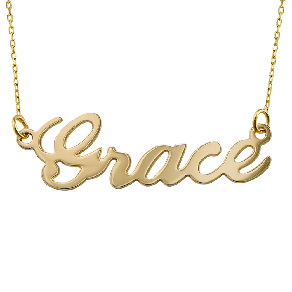 10ct Gold Name Necklace