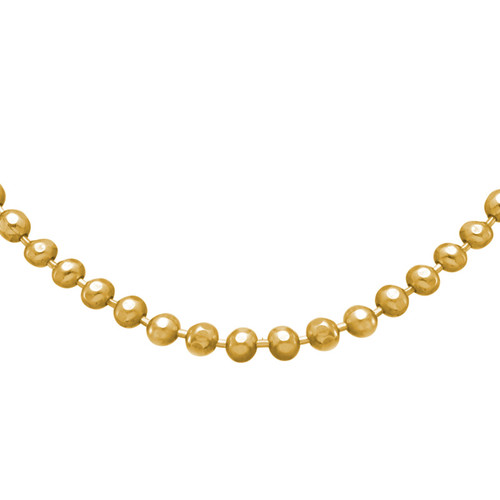 Bead Chain - Gold Plated - 1