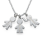 Children's Charm Necklace for Mums