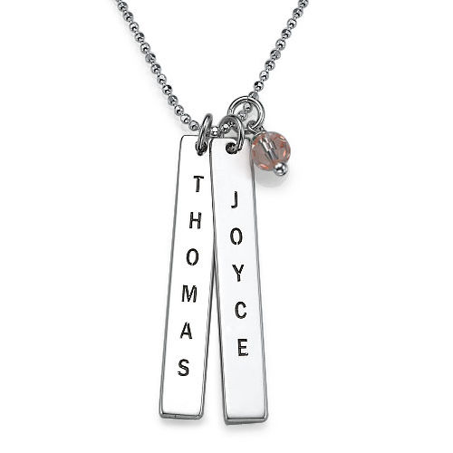 Customised Name Tag Necklace - 1