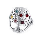 Family Tree Jewellery - Birthstone Ring