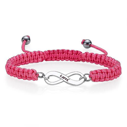 Blue Infinity Friendship Bracelet - 2
