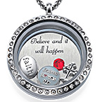 Gotta' Have Faith  Floating Locket