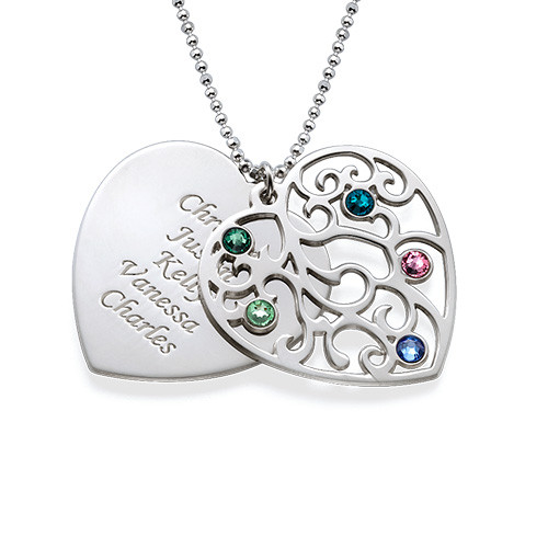 Heart Shaped Filigree Nan Necklace