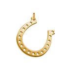 Horseshoe Charm - Gold Plated