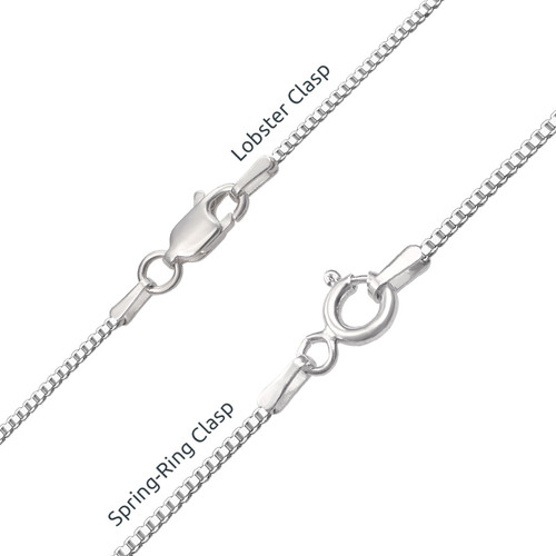 Infinity Name Necklace with Birthstones - 3