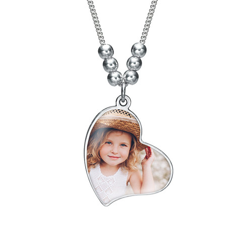 Multiple Photo Charm Necklace - 1