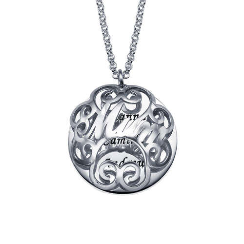 Mum Necklace with Back Engraving