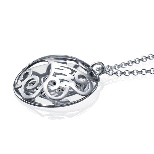 Mum Necklace with Back Engraving - 2