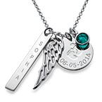 Personalised Mum Charm Necklace