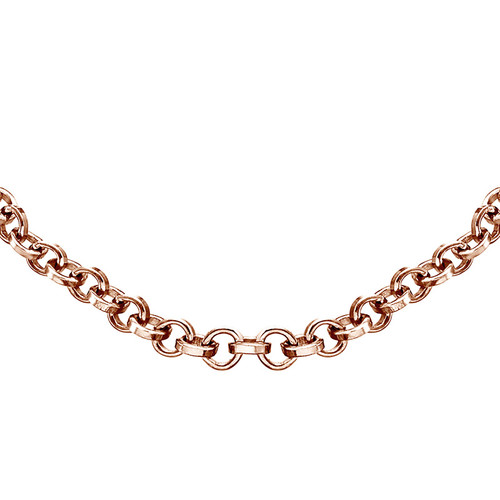 Rollo Chain - Rose Gold Plated - 1