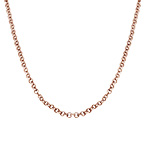 Rollo Chain - Rose Gold Plated