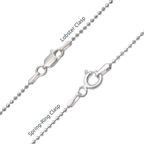Silver Personalised Family Tree Necklace - 4