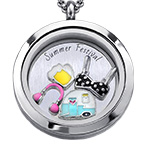 Summer Festival Floating Locket
