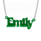 That 70's show Style Colour Name Necklace