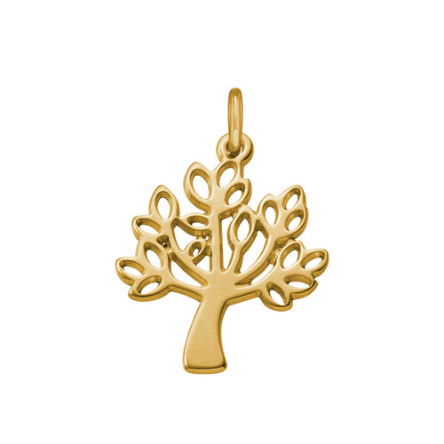 Tree Charm - Gold Plated