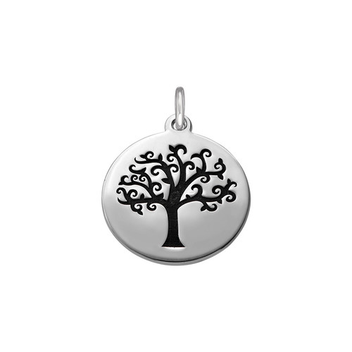 Tree of Life Charm with Back Engraving