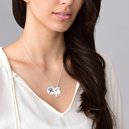 Tree of Life Charm with Back Engraving - 2