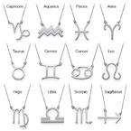 Zodiac Necklace in Silver