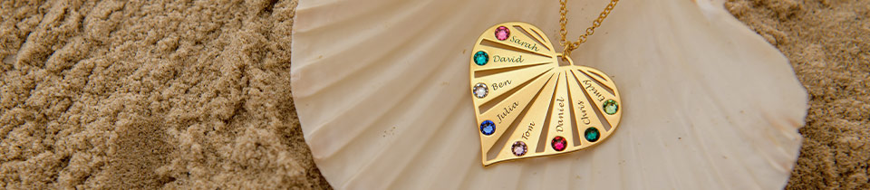 Personalised Jewellery for Mums