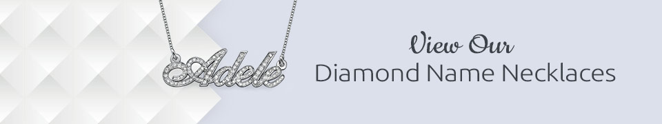 Diamond Name Necklaces