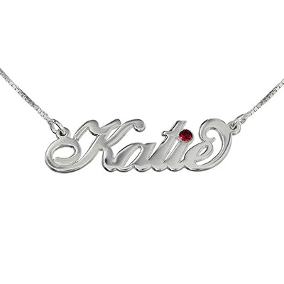 Personalized Jewelry - Swarovski Carrie Necklace