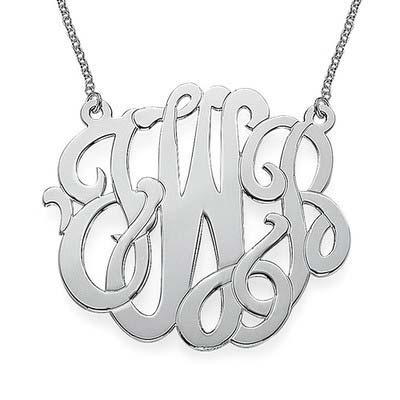 SXXL Premium Monogram Necklace