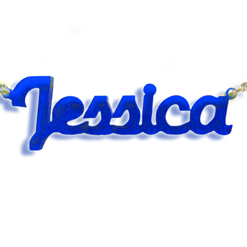 My Name Necklace Jewel-New York Style Color Name Necklace at Sears.com