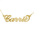 Personalized Jewelry - 10k Gold