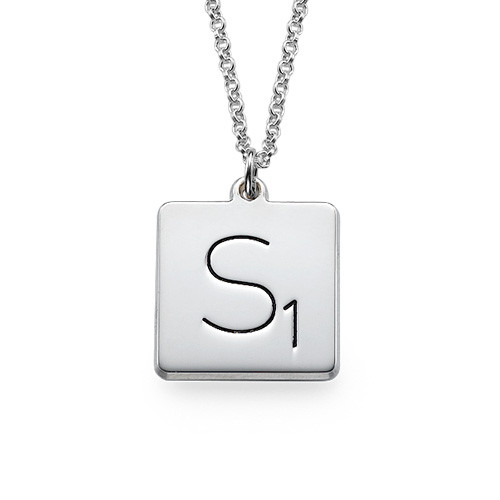Scrabble Necklace from MyNameNecklace