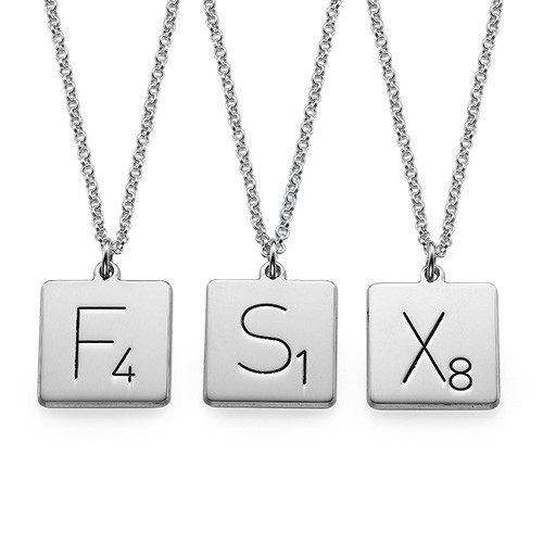 Scrabble Necklace