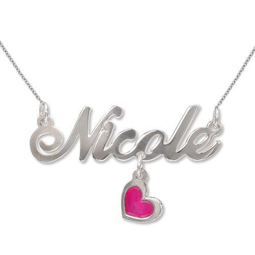 MyNameNecklace.com Sterling Silver Dangling Charm Name Necklace at Sears.com