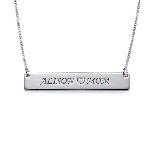 My Name Necklace Jewel-Sterling Silver Nameplate Necklace at Sears.com