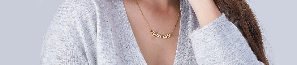 Carrie Name Necklaces