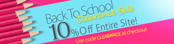 MyNameNecklace Back to School Clearance Sale