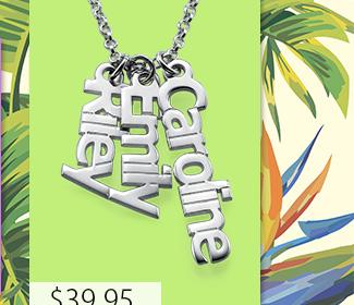 Sterling Silver Carrie Style Name Bracelet / Anklet
